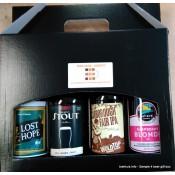 4 Bottle Beer Gift Box - please add bottles