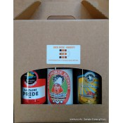 6 Bottle Beer Gift box Please add bottles